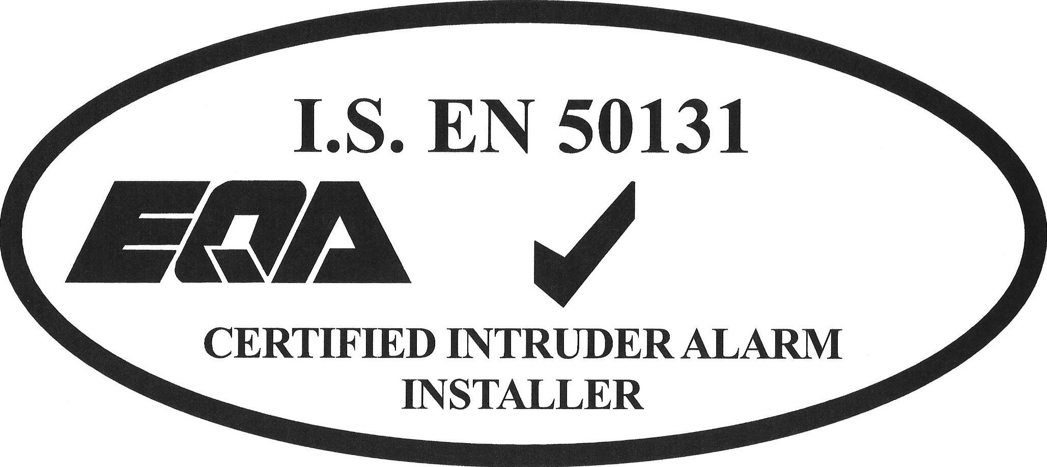 Systematic Security, Certified Alarm Installer